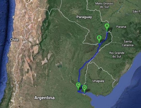 argentine itinéraire 1