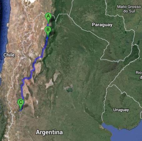 argentine itinéraire 3